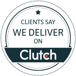 Clients say we deliver on Clutch.co