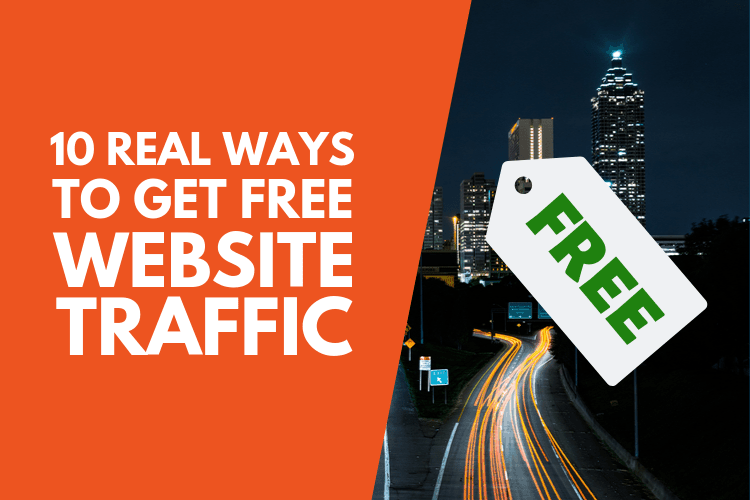 Some real ways to get free website traffic